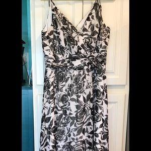 White House Black Market Floral Maxi Dress 14